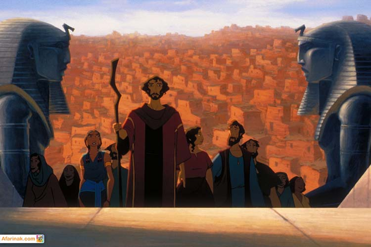 انیمیشن شاهزاده مصر