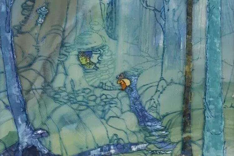 انیمیشن گربه ماهی