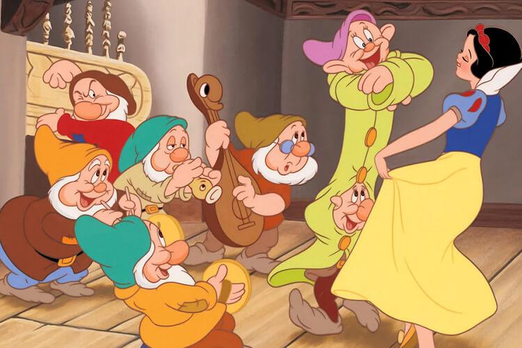 انیمیشن هفت کوتوله
