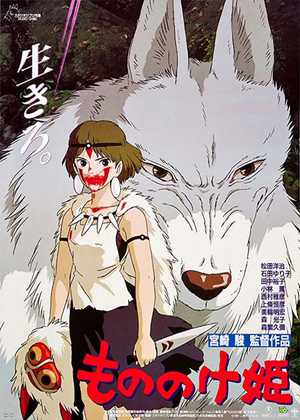 شاهزاده مونونوکه Princess Mononoke